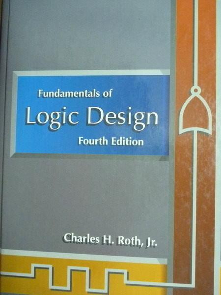 ~書寶 書T3/大學理工醫_PHK~Fundamentals of Logic Desig