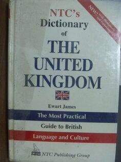 【書寶二手書T2/字典_PAI】NTCs Dictionary of THE UNITED KINGDOM