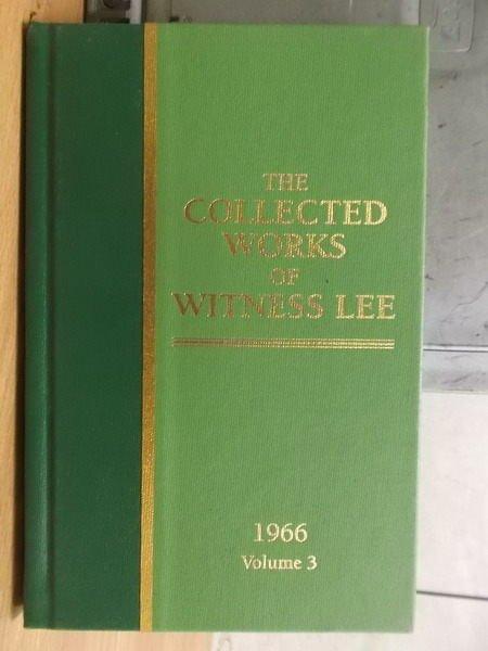 ~書寶 書T7/原文小說_YBZ~the collected works of witne