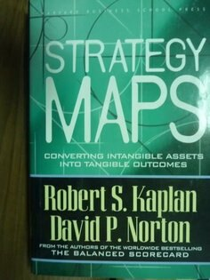 【書寶二手書T2/財經企管_QAA】Strategy Maps_Kaplan