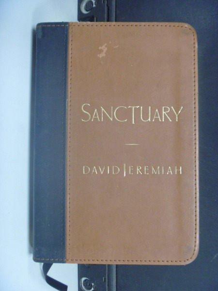 ~書寶 書T4/宗教_KAX~ Sanctuary _ Jeremiah