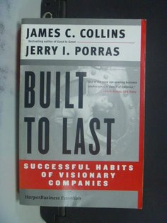 【書寶二手書T9╱財經企管_NMA】Built to Last: Successful Habits