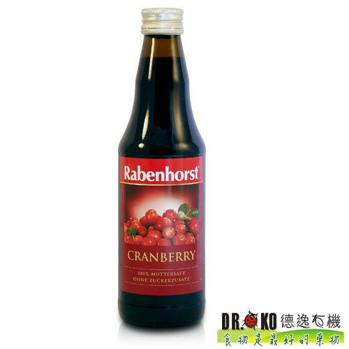 DR.OKO德逸有機 德國蔓越莓原汁(小紅莓) 330ml/瓶