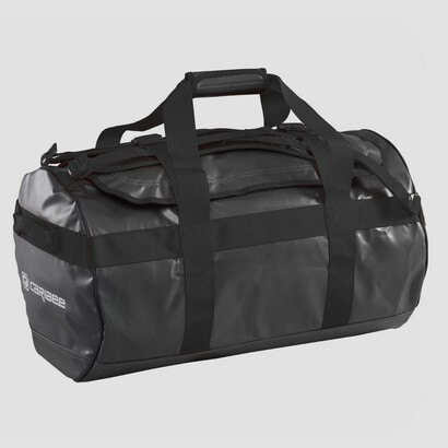 Caribee Kokoda 90L Weatherproof Duffel Bag (charcoal/black) 0