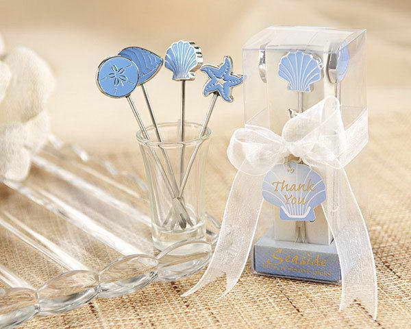 (10入) 創意婚禮小物-婚禮水果叉 海洋水果叉禮盒 HT-0024 HFPWP