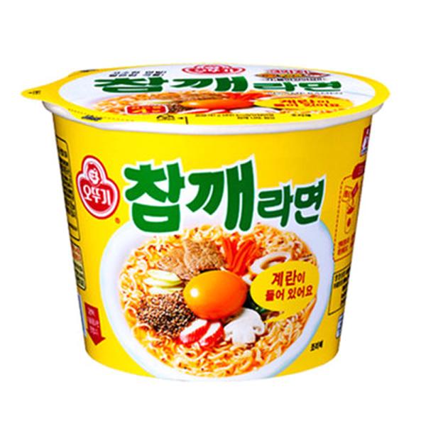 韓國進口 OTTOGI 不倒翁-芝麻拉麵110g