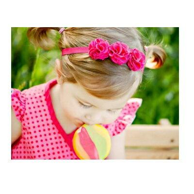 【安琪兒】【Spinkie】俏麗髮帶-小蜜桃 1