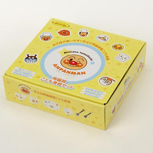 日本 Anpanman 麵包超人兒童餐具六件組套裝 兒童餐具