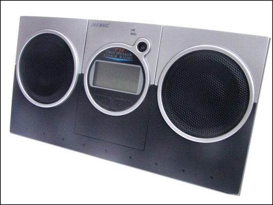 《清倉鋪》 鬧鈴隨身聽組合(鬧鐘+FM收音機) 一組6台