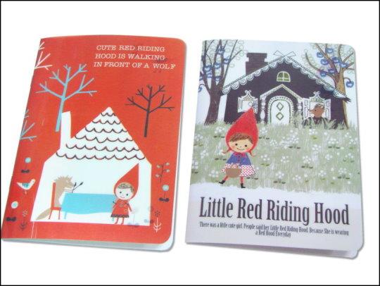 《清倉鋪》 小紅帽與野狼系列筆記本 全家便利超商集點活動加價購商品 一組50本(25套)
