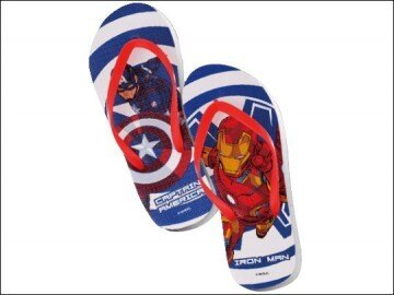 《清倉鋪》 英雄聯盟美國隊長&鋼鐵人造型趴趴走夾腳拖 16雙一組 四組最便宜平均一雙25