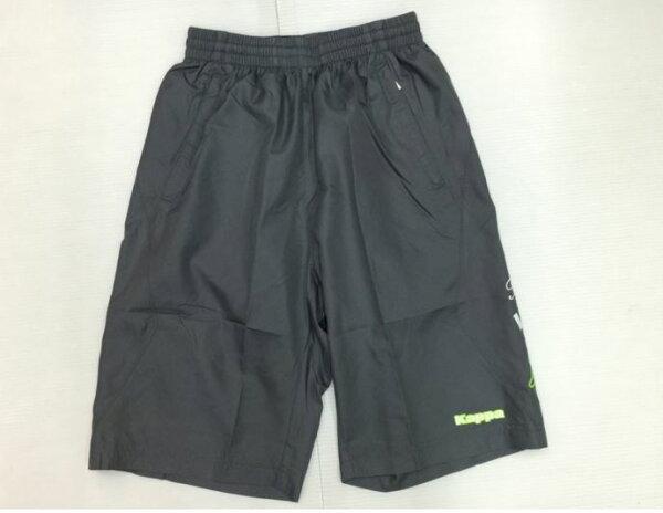[陽光樂活] KAPPA 男款  Kappa 風衣半短褲B752-7322-7 灰色