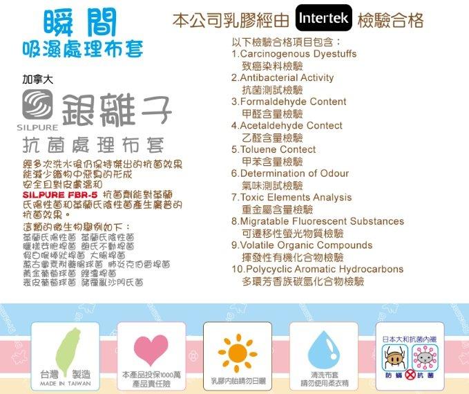 Mam Bab夢貝比 - 好夢熊乳膠乳母小床墊 (粉、黃、藍) 2