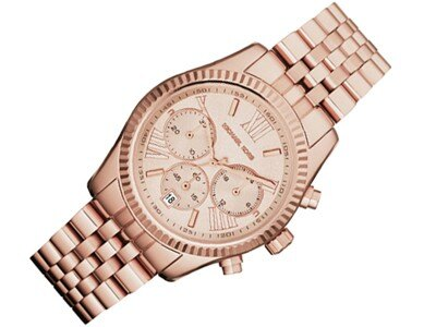美國Outlet正品代購 MichaelKors MK  男女中性玫瑰金鋼帶錶 手錶 MK5569 2