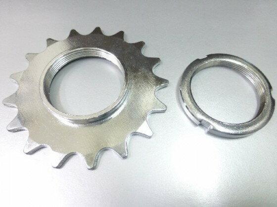 死飛輪 16T 附固定環 (鎖牙式)-死齒/固定齒《意生自行車》