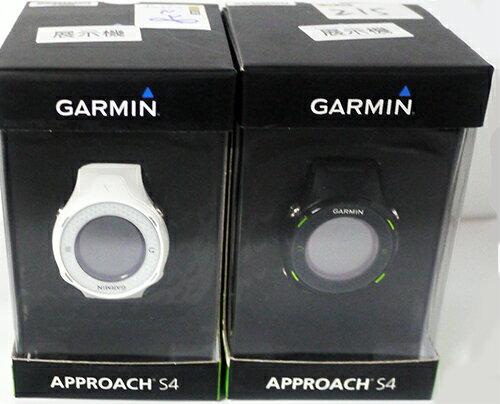 「YEs 3C」展示品 Garmin Approach S4 中文高爾夫球GPS腕錶 黑/白 11ne yes3c 免運 可刷卡 有發票