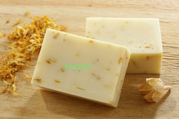 Mueese-金盞花乳木膠原手工皂 110G