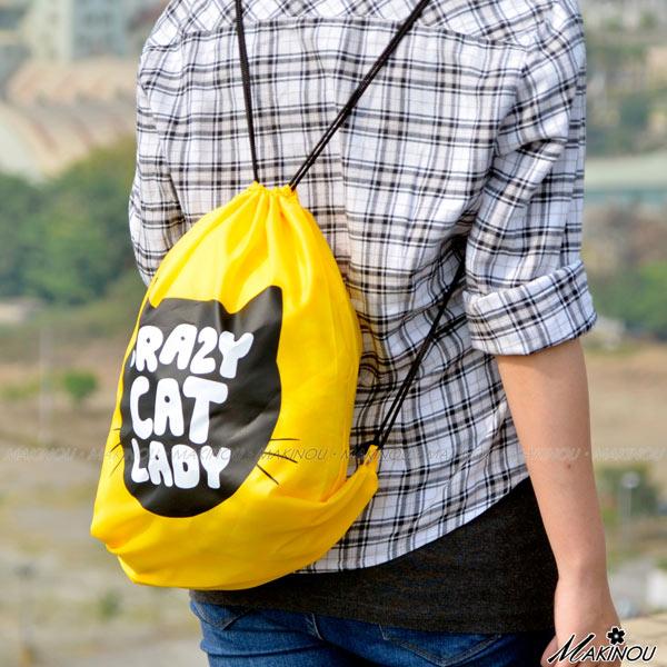 收納袋|韓系俏皮可愛旅行束口袋背包|日本牧野 收納包 鞋袋 包中包 旅行李箱 MAKINO