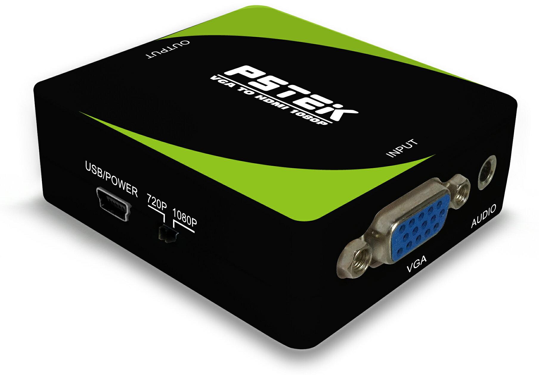 AviewS-VGA+AUDIO轉HDMI轉換器/定頻輸出/PSTEK HDC-VAH1 1