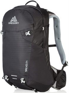 Gregory Salvo 24 網架登山背包/郊山小背包/單車包 24升 68417 黑