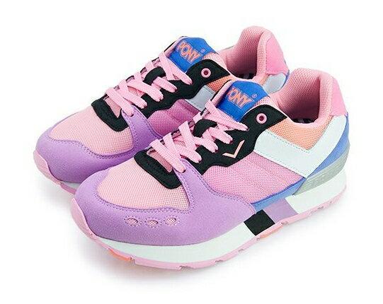 【陽光樂活】 PONY 2015秋季新款 女休閒運動鞋 SOLA-T 53W1YK67PK