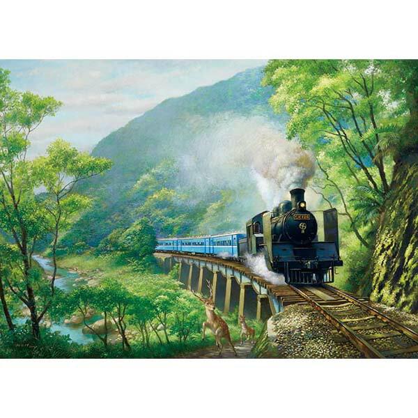 【P2 拼圖】賴英澤油畫系列-逐鹿山林 520片 25-030