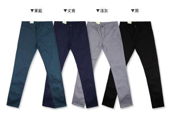 ☆BOY-2☆【JN4052】韓版窄身男裝休閒長褲 3