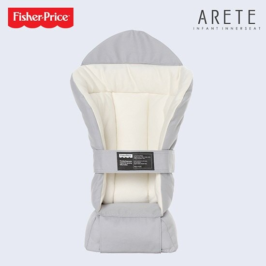 【Fisher-Price費雪】ARETE艾瑞特腰凳式揹巾(背巾)-大象灰 4