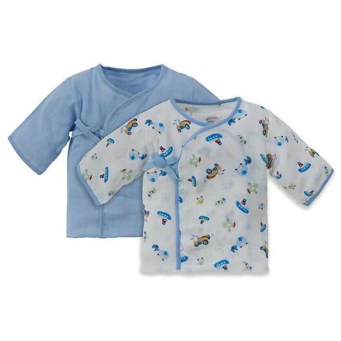 Baby City娃娃城 - 超柔紗布肚衣2入 (藍) 0