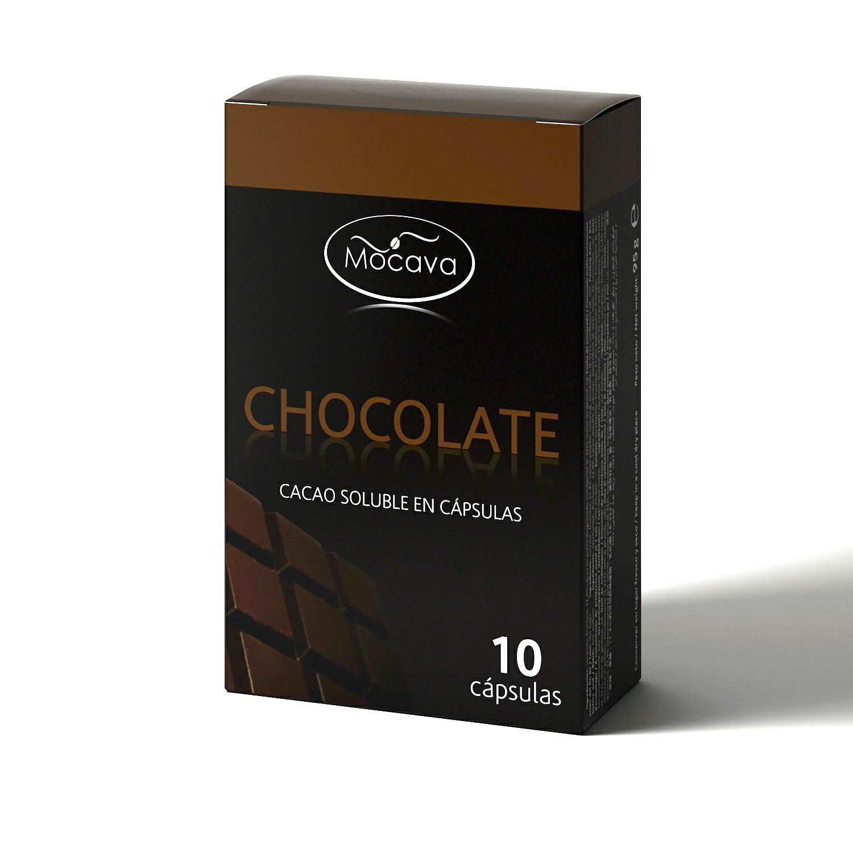 Pack 120 cápsulas CHOCOLATE compatibles con Nespresso 0
