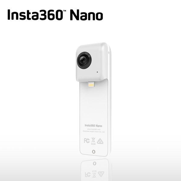 新品上市【★六期零利率.免運費】Insta360 360°全景相機 INSTA 360 Nano 全景攝影機 VR相機 魚眼鏡頭 3K高畫質 iPhone專用 ATM/黑貓貨到付款 加碼送不求人自拍棒(附手機夾)