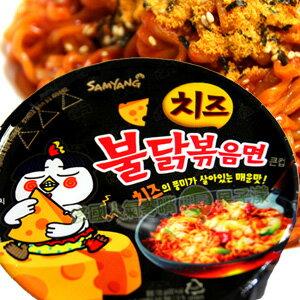 韓國 (起司)噴火辣雞肉風味炒麵(碗麵) 全球最辣美味泡麵姐妹作 [KR249] - 限時優惠好康折扣
