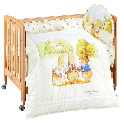 『121婦嬰用品館』狐狸村 精梳棉嬰兒七件組-M