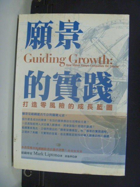 ~書寶 書T4/財經企管_HEN~願景的實踐:打造零風險的成長藍圖_Mark Lipton