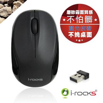 [福利品] i-Rocks Z600 2.4GHz藍光無線滑鼠-黑_羅技比較