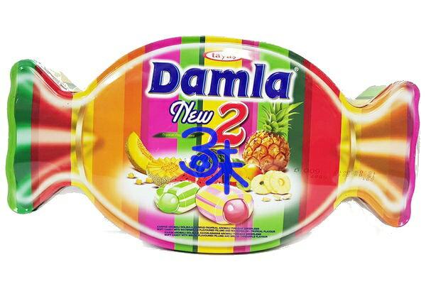 (土耳其) Tayas Damla NEW2黛瑪拉什錦軟糖造型糖果禮盒 1盒600公克 特價 258 元【 8690997155870】 黛瑪拉雙色什錦軟糖 爆漿水果軟糖 可愛糖果造型盒