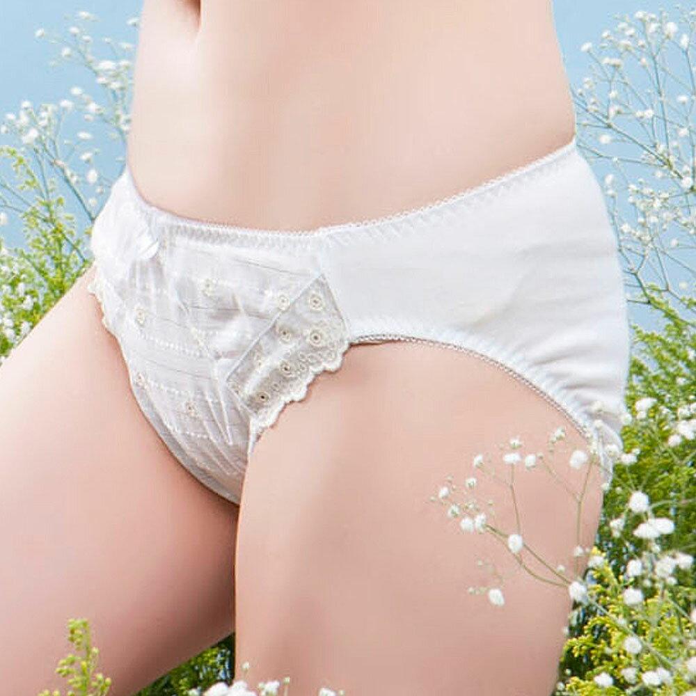 【AJM】花園甜心女孩 三角褲(香檳) 0