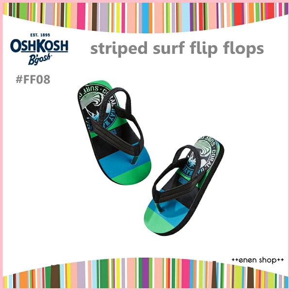 ++enen shop++ OshKosh B'gosh 衝浪款夾腳拖鞋/人字拖/海灘鞋 #FF08 ∥ S/M/L