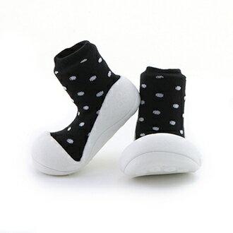 【本月特價$599】韓國【Attipas】快樂腳襪型學步鞋-牛奶巧克力系列 - 限時優惠好康折扣