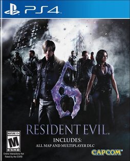 現貨供應中 亞洲英文版  [限制級] PS4 惡靈古堡 6