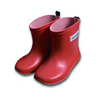 【本月贈鞋墊】日本【Stample】兒童雨鞋(蘋果紅) 0