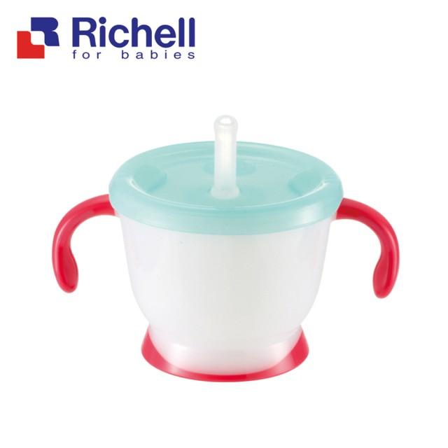 【全系列特價68折】日本【Richell-利其爾】貓物語訓練杯-150ml - 限時優惠好康折扣