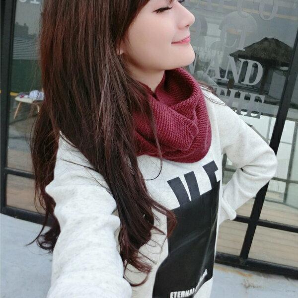 ◆快速出貨◆刷毛T恤 圓領刷毛 情侶T恤 暖暖刷毛 MIT台灣製.大黑框love【YS0386】可單買.艾咪E舖 5