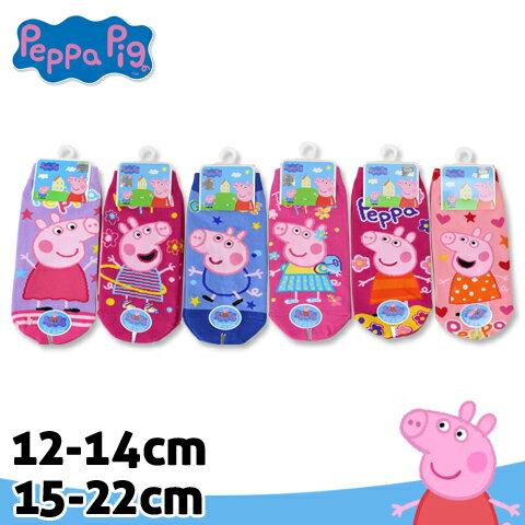 【esoxshop】佩佩豬童襪 直版襪 粉紅小豬 台灣製 Peppa Pig