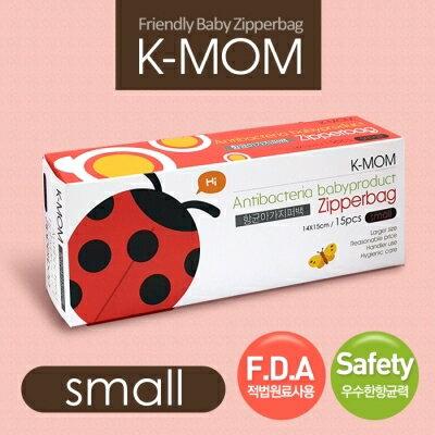 【安琪兒】韓國【MOTHER-K】動物家族抗菌儲存袋-瓢蟲菲菲(S) - 限時優惠好康折扣