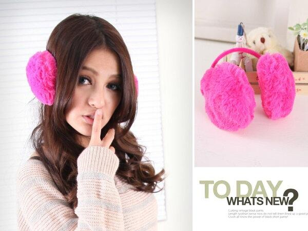 *911 SHOP*【dc600】冬季暖呼呼保暖單品.隱藏後掛式毛絨耳罩
