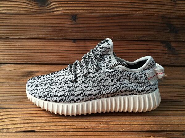 Kanye West adidas Yeezy 350 Boost low B35305 灰色椰子低幫  男女情侶鞋