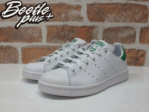 女生 BEETLE PLUS ADIDAS ORIGINALS STAN SMITH 白綠 愛迪達 復古 休閒鞋 余文樂 女鞋 M20605 1