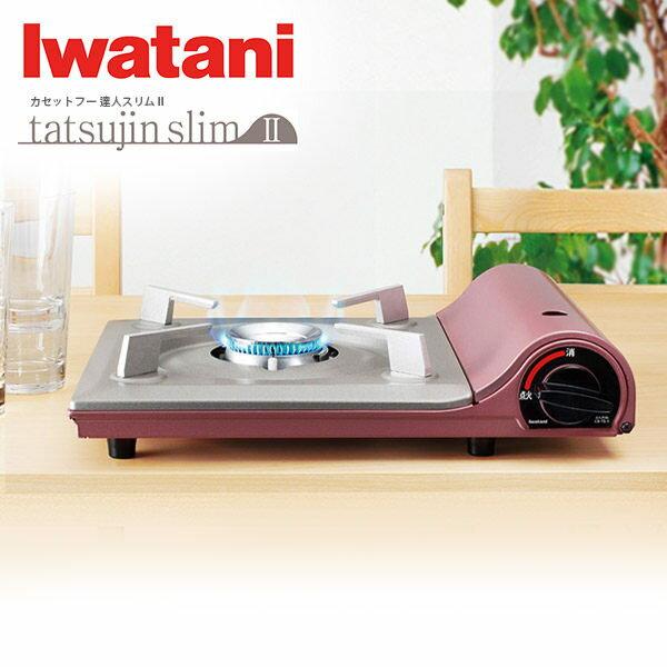 [火鍋超值組合]日本岩谷Iwatani卡式爐 TS-1 + 雙耳玫瑰鍋24cm HKRC-024 2