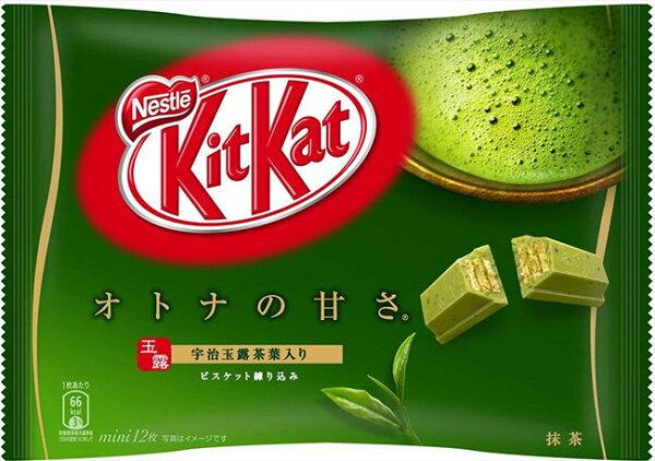 日本 Kitkat 巧克力威化 餅乾 9枚/包(抹茶)